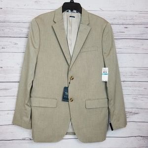 Perry Ellis Heather Twill Stretch Suit Jacket NWT